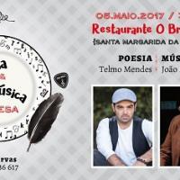 Poesia e Música à Mesa: Telmo Mendes / João Madeira