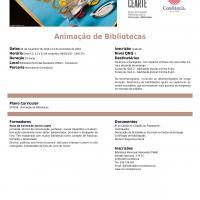 Formação Animação Bibliotecas