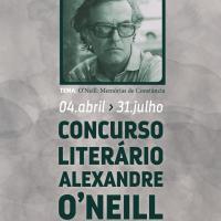 Entrega do Prémio Literário assinalando o 95º aniversário de Alexandre O'Neill