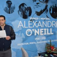 Entrega do prémio da 3ª edição do Concurso Literário Alexandre O´Neill